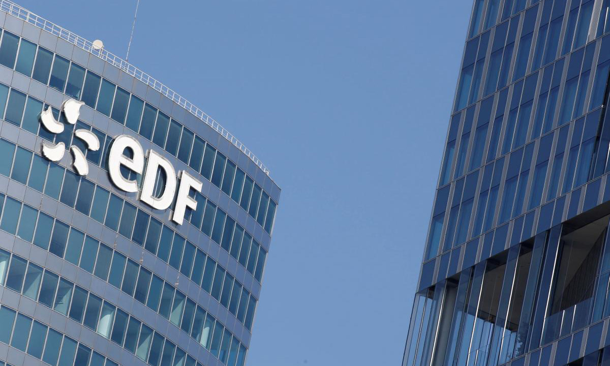 edf vehivle to grid tech
