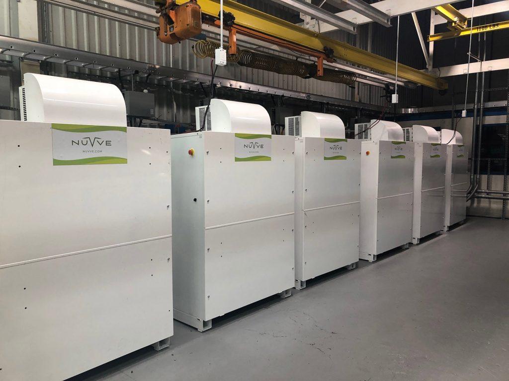 Nuvve Battery Storage System