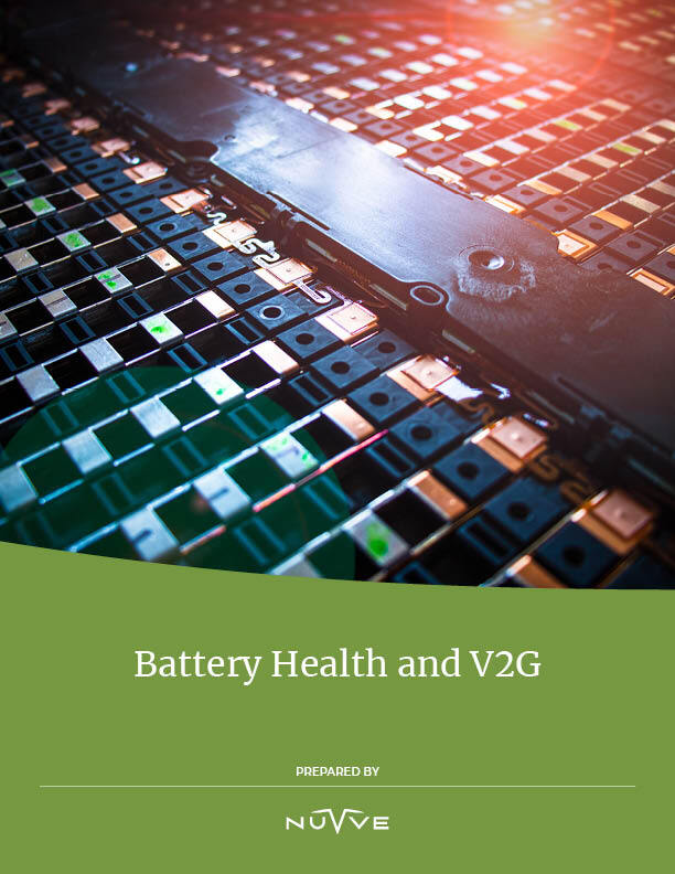 nuvve battery health and V2G paper