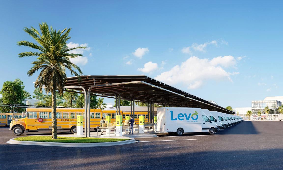 V2G Hubs Levo - Nuvve
